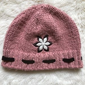 Columbia Convert Pink Knitted Winter Hat
